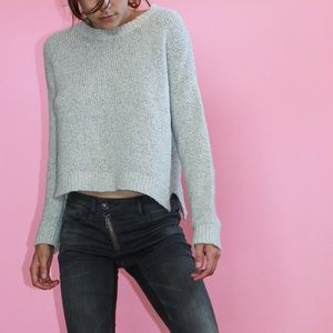 BRANDY MELVILLE Oatmeal Crop Sweater
